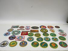LOT OF 36 HARD TO FIND BOY SCOUTS BSA PATCHES / BADGES