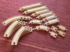 BRIO Set - 32 Gleise Kurven Schienen (A) gut erhalten - Genuine BRIO Tracks