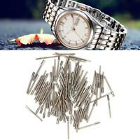 100Pcs Durable Metal Stem Extension Bar Winding Stem Extender Watch Repair Tools