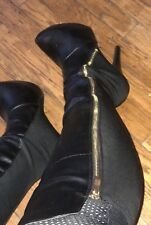 Womens Worn over the knee Stiletto boots