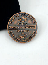 1964 -1965 New York World's Fair Exchequer Club American Express Token