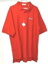 Brand New Strawberry Farms Golf Club Shirt red Mens Polo size Xl Nwt Srp $39