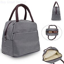 Insulated Lunch Bag Organizer Holder Adult For Men Women Leak Proof Tote - Brown