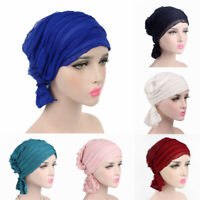 Headwear Turban Bandana Beanie Cap Chiffon Scarf Head Wrap Cancer Chemo Hat