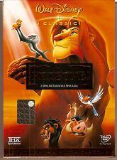 Disney IL RE LEONE cofanetto 2 DVD ologramma tondo COME NUOVO