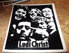 LUDI CHRIST STICKER COLLECTiBLE RARE VINTAGE 90'S METAL LIVE