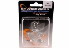 SAVAGE GEAR 3D CRAB STAND UP JIG HEAD SYSTEM 4g 1/7 oz # 8 HOOK