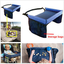 Baby Safety Waterproof Snack Car Seat Table Play Travel Tray Kids Drawing Board
