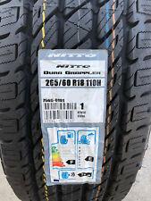 1 New 265 60 18 Nitto Dura Grappler H/T Tire