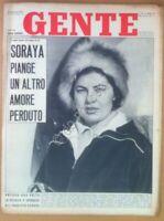 Rivista Magazine - Gente n° 3 1961 - Soraya - Shirley MacLaine - Sommergibili