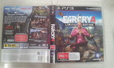 farcry 4 limited edition ps3