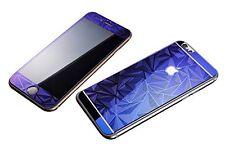 Films en verre trempé résistant Effet 3D Avant + Arrière pour iPhone 6 PLUS Bleu
