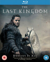 The Last Kingdom: Season Two Blu-Ray (2017) Alexander Dreymon cert 15 3 discs