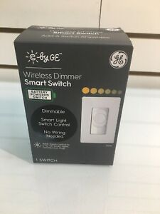 C by GE Wireless Battery Powered Dimmer Smart Switch/Light No wiring needed