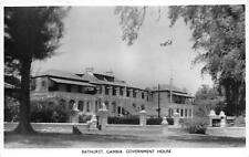 br104426 bathurst gambia government house africa real photo