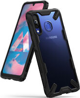 For Samsung Galaxy M30 | Ringke [FUSION-X] Clear Back Shockproof Hard Cover Case