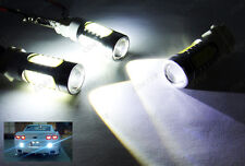 2x CREE Plasma LED 3157 3057 Projector Back Up Reverse Light White For Chevrolet