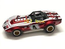 Hot Wheels 2019 Super Treasure Hunt STH '69 Corvette Racer Red Loose