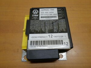 Airbagsteuergerät VW PASSAT Variant 3C 3C0909605M TRW 2.0 10/2006