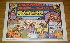 Serie Cino e Franco #6 FN nel favoloso regno del passato september 1973 italian