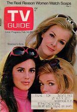 1970 TV Guide February 14 - Bracken's World; Dick Clark at 40;Kukla,Fran & Ollie