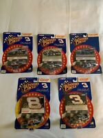 dale earnhardt sr diecast cars 5 New In Box
