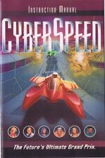 CyberSpeed PC CD W/ Manual and install Guide Free USA Shipping!