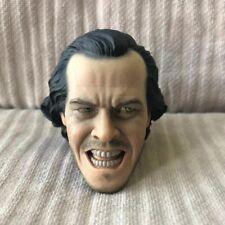 Free Ship 1/6 scale Shocking Guy The Shining Jack Nicholson Head Sculpt 2 loose