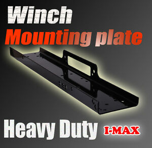 New High Quality Universal Winch Mounting Plate 9000 10000 12000 13000 14500 lbs