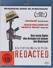 Redacted   BLU-RAY FSK 18