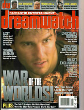 WoW! dreamwatch#131 War Of The Worlds! Fantastic Four! Stargate Sg1! The Island!