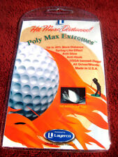 """Poly Max Extremes"" for extra golf driver distance!"
