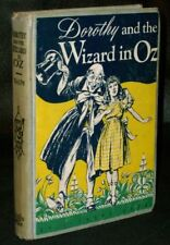 L. Frank Baum - DOROTHY & THE WIZARD IN OZ - 1950's HC