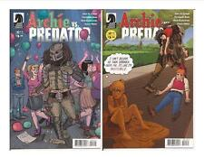 Dark Horse Archie vs Predator #4 Two Covers Veronica Betty Teen Dance Party