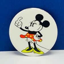 Walt Disney Trading pin button pinback Minnie Mouse button vintage monterey park