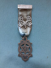 RARE TREASURERS Antique Silver 1916 Jewel MERCURY LODGE No. 706  RA Chapter ?