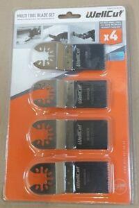 WellCut Multi Tool Blade Set