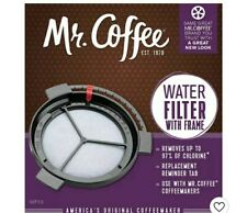 Mr. Coffee Replacement Coffee Maker Water Filter WF10 w/ Frame - Lot of 2