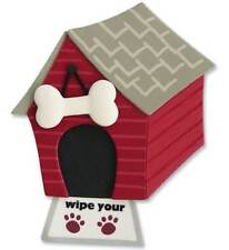 Dog House Wipe Your Paws Red Puppy Canine K-9 Jolee's 3D Sticker