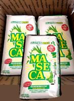 3 - 4.4 lb packs Maseca Instant Corn Masa de maíz 3 paquetes de 4.4 lb (2kg)