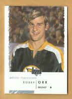 LIMITED  BOBBY ORR SP ARTISTIC IMPRESSIONS BY CHUCK PYLE BOSTON BRUINS