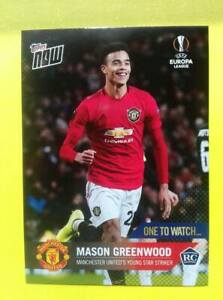 Mason GREENWOOD RC Rookie Manchester United  TOPPS NOW