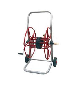 Carrello avvolgitubo porta gomma acqua METAL MICANTI PC100/PE irrigazione