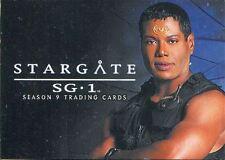 Stargate SG1 Season 9 Complete 72 Card Base Set