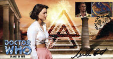 "Doctor Who ""Planet of Fire"" Classic Episode Stamp Cover - Signed NICOLA BRYANT"
