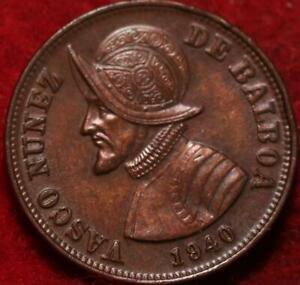 1940 Panama 1 1/4 Centesimos Foreign Coin