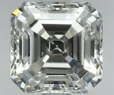 1 Carat Real Diamond Asscher Cut Loose Stone GIA Certified - Wholesale Prices