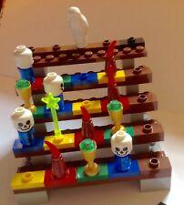 Lego 3836 Magikus Building Game Wizarding Owl Bat Cauldron Wands Dice Skull Head