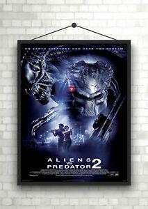 Aliens Vs Predator 2 Classic Large Movie Poster Print A0 A1 A2 A3 A4 Maxi