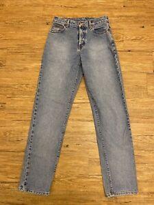 Vtg 90s Calvin Klein Jeans Women Easy Fit BJZH146 Blue 26X32 Tapered  Size 5 Mom